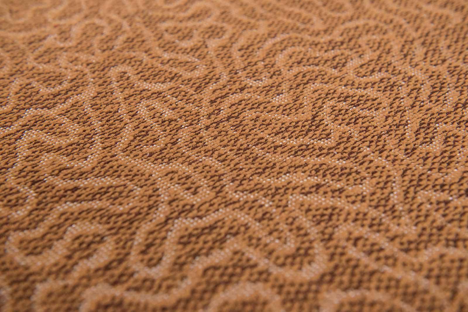 Louis De Poortere Jackies Wilton Rugs Coral 9006 detail 1