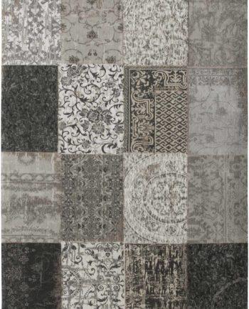 Louis De Poortere rug LX 8101 Vintage Black White