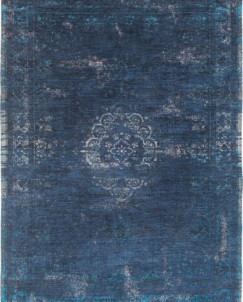 Louis De Poortere rug LX 8254 Fading World Medaillon Blue Night