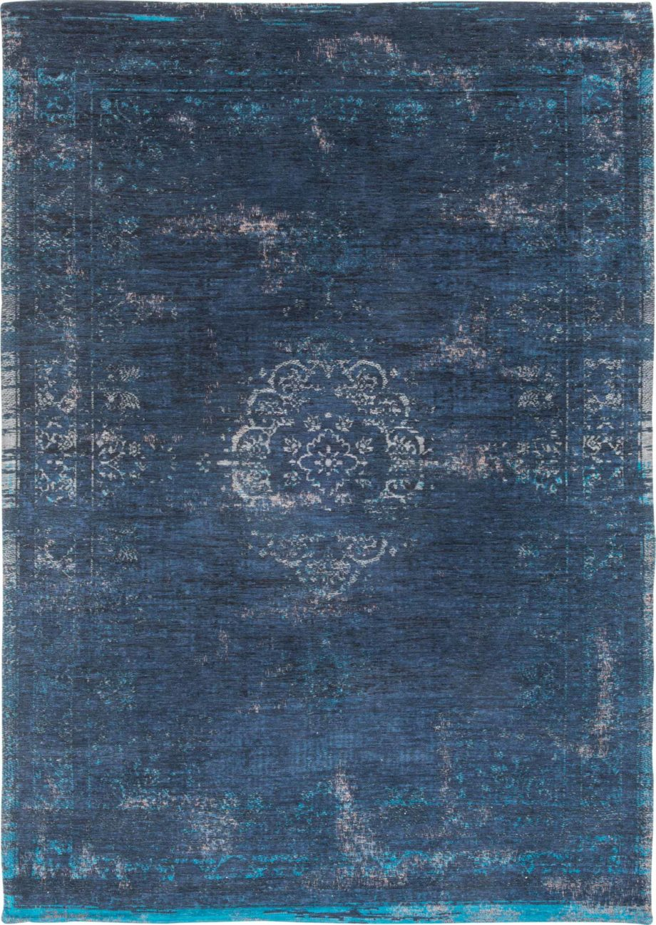 Louis De Poortere rug LX 8254 Fading World Medaillon Blue Night