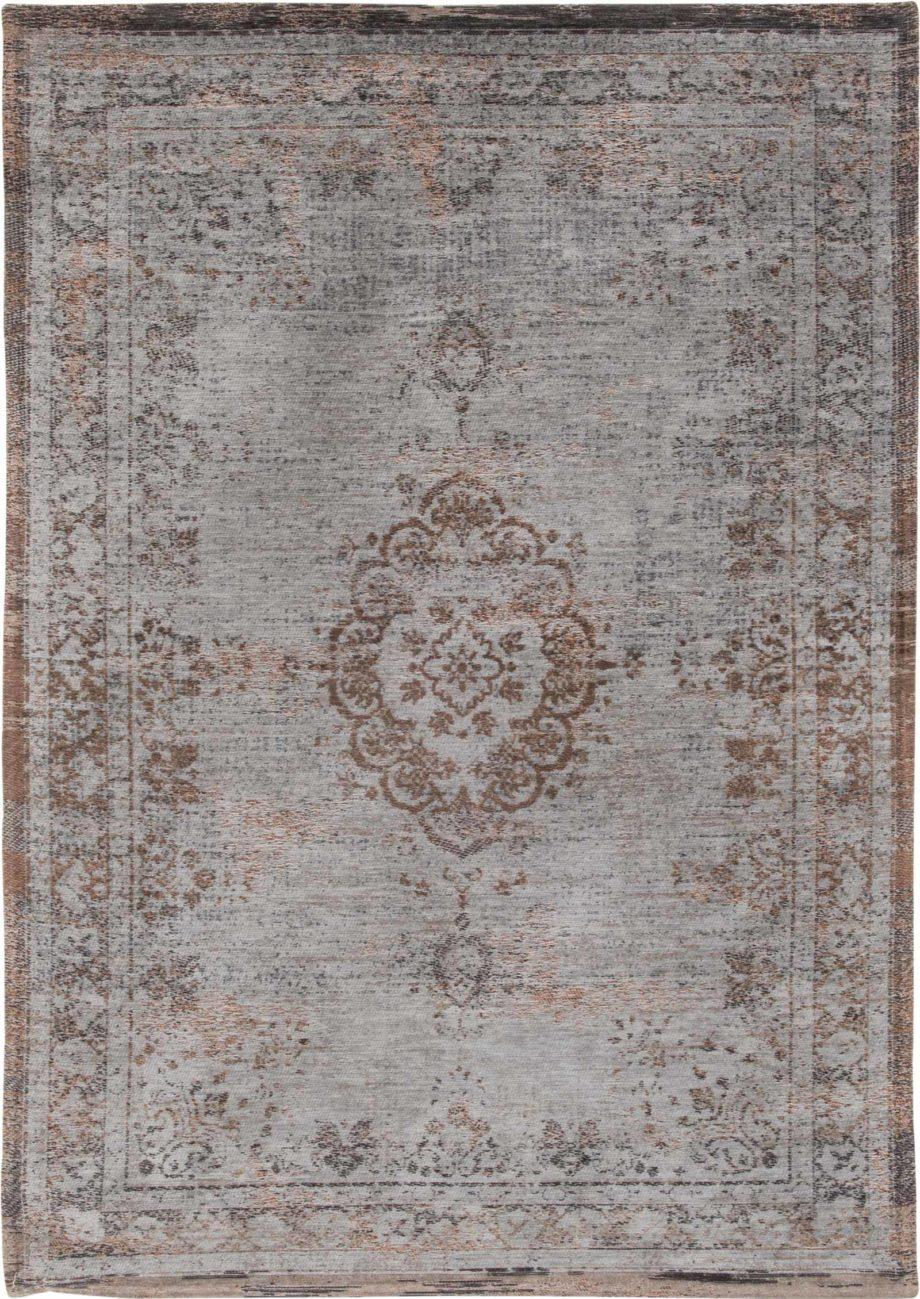 Louis De Poortere rug LX 8257 Fading World Medaillon Grey Ebony