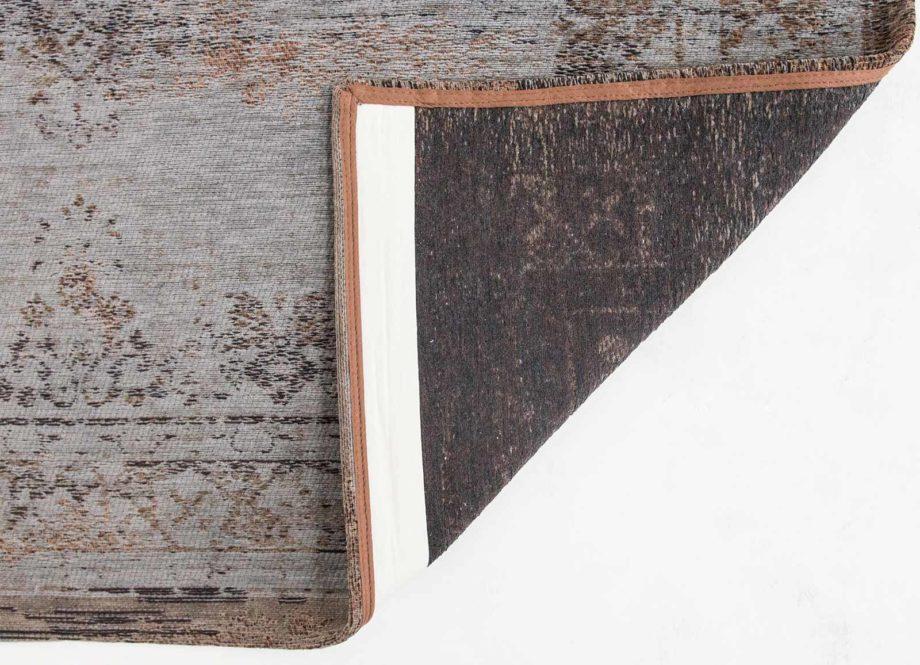 Louis De Poortere rug LX 8257 Fading World Medaillon Grey Ebony back