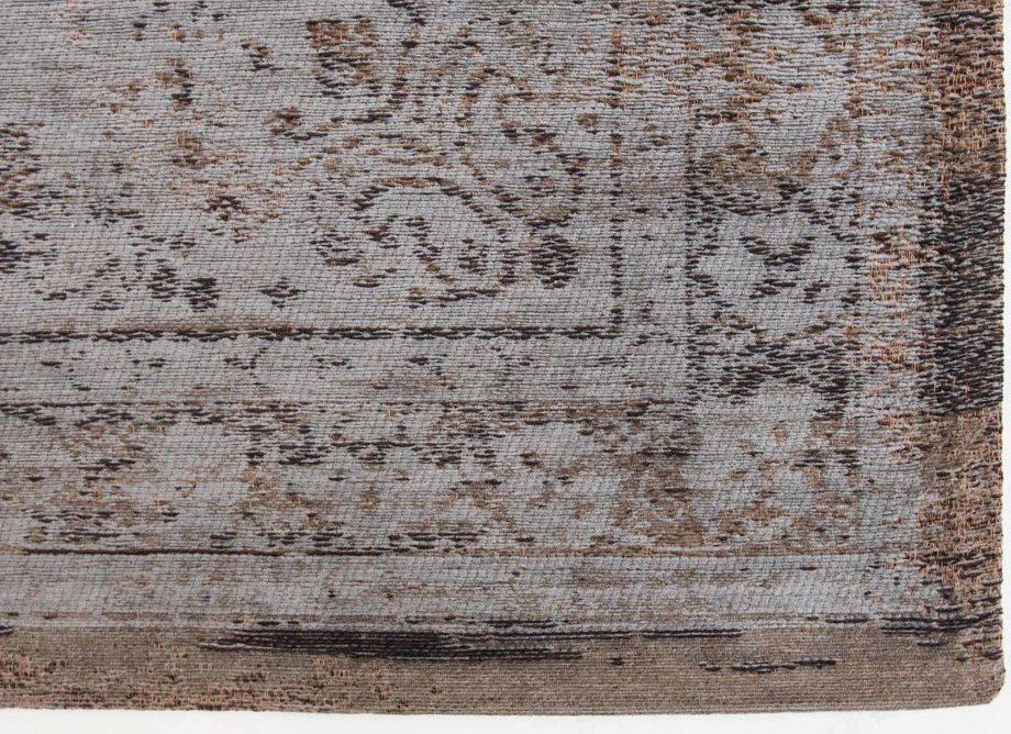 Louis De Poortere rug LX 8257 Fading World Medaillon Grey Ebony corner