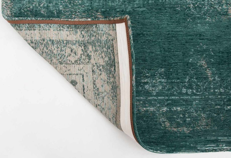 Louis De Poortere rug LX 8258 Fading World Medaillon Jade back