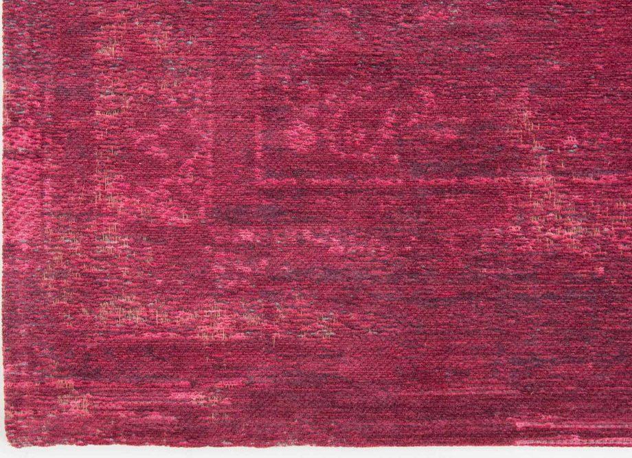 Louis De Poortere rug LX 8260 Fading World Medaillon Scarlet corner