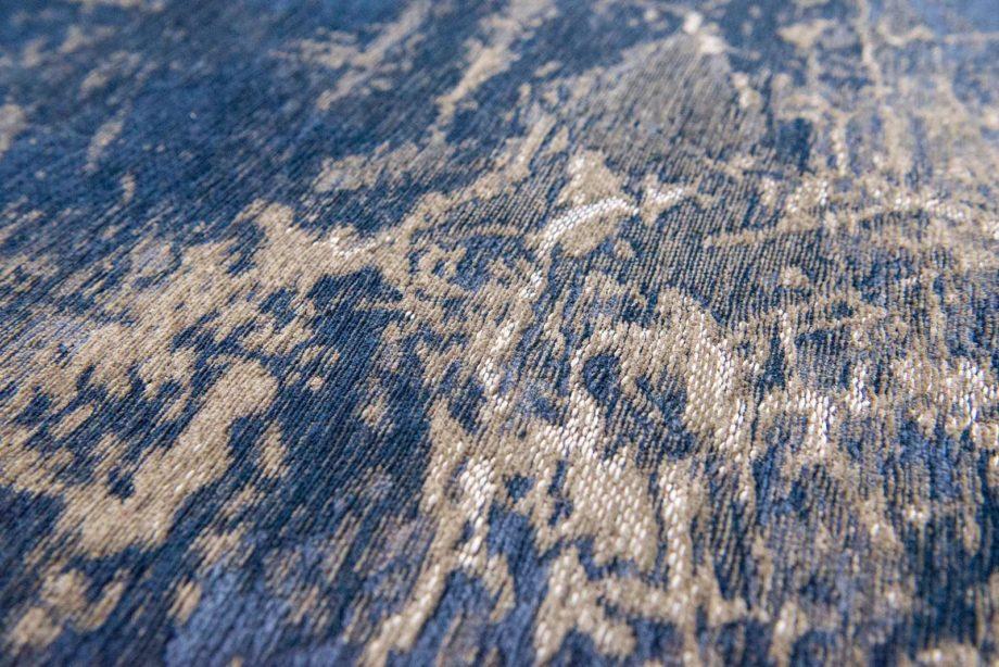 Louis De Poortere rug LX 8629 Mad Men Cracks Abyss Blue zoom