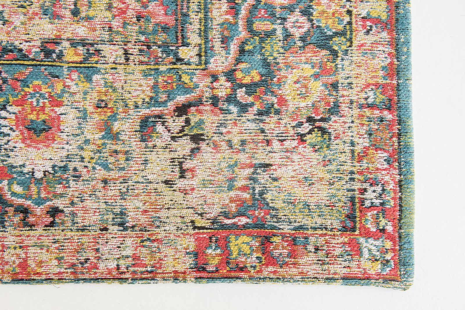 Louis De Poortere rug LX 8712 Antiquarian Antique Bakthiari Janissary Multi corner