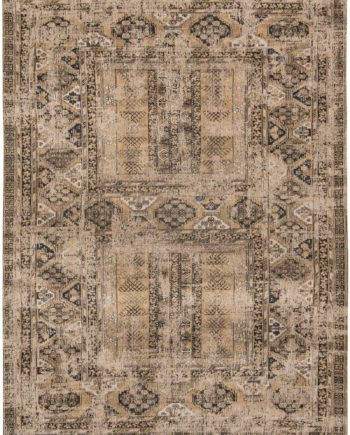 Louis De Poortere rug LX 8720 Antiquarian Antique Hadschlu Agha Old Gold