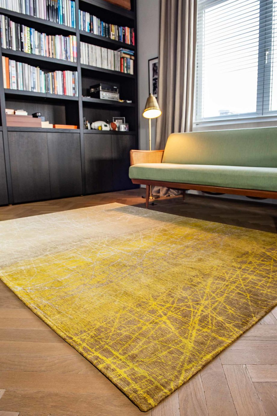 Louis De Poortere rug LX 8879 Mad Men Fahrenheit New York Fall interior 2