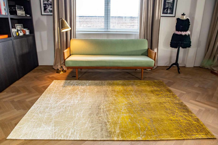 Louis De Poortere rug LX 8879 Mad Men Fahrenheit New York Fall interior