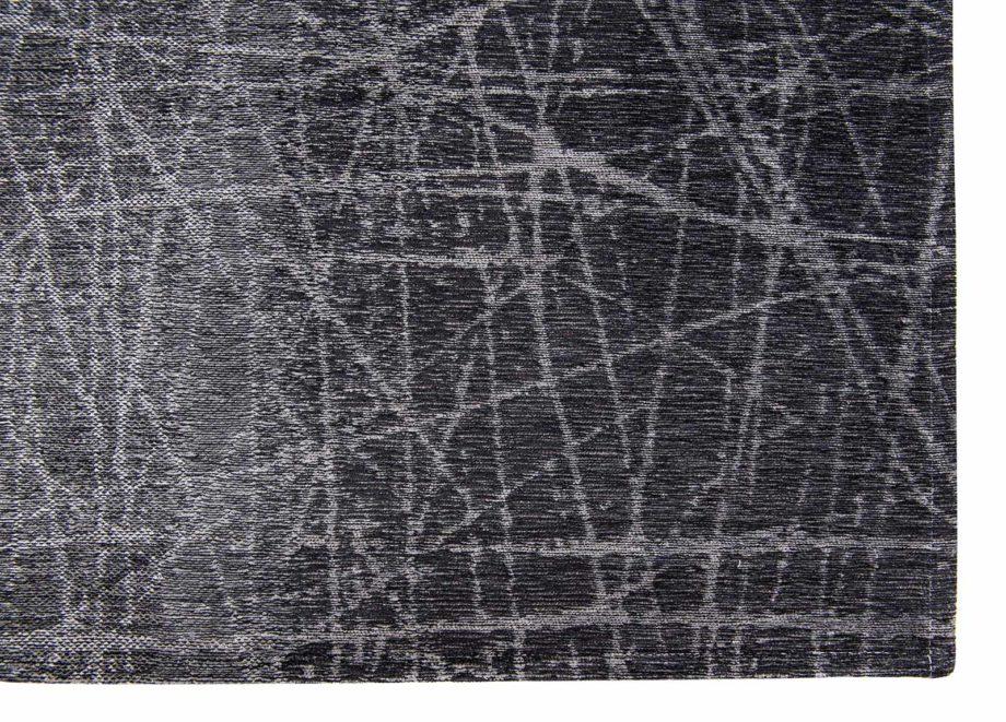 Louis De Poortere rug LX 8881 Mad Men Fahrenheit Wind Chill Grey corner