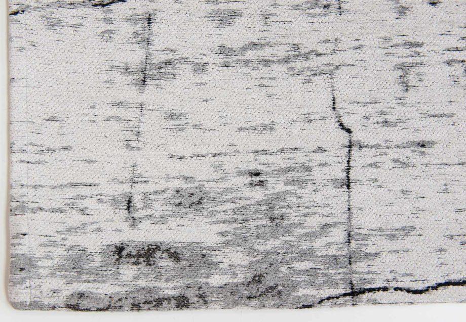 Louis De Poortere rug LX 8926 Mad Men Griff Metro Black and White corner