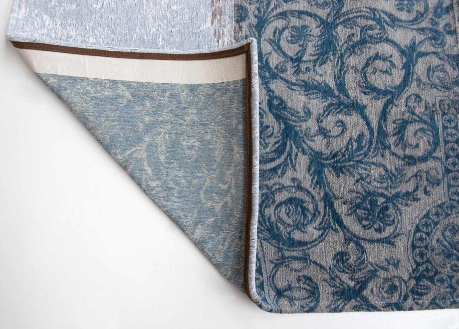 Louis De Poortere rug LX 8981 Vintage Bruges Blue corner