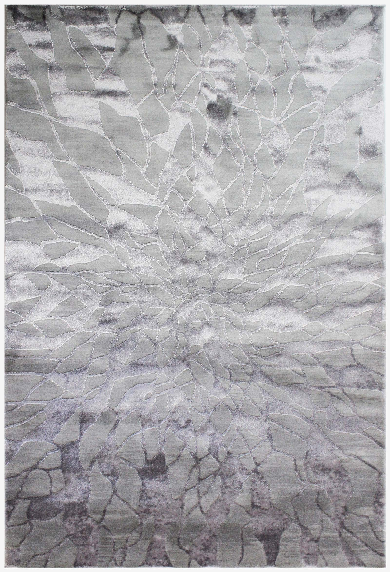 Luxmi Rugs Alpaca Suri Grey