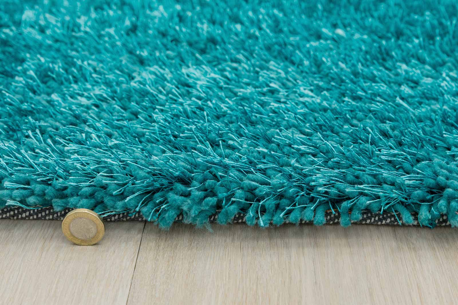 Andessi rug Mythica Teal detail 4