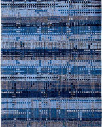 Louis De Poortere 8053 8426 Rockefeller Blue flatdown