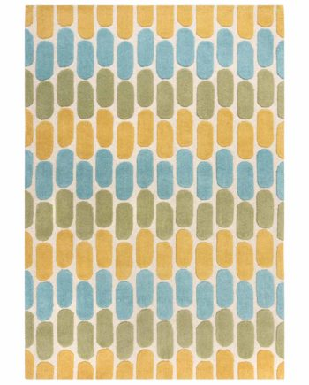 Andessi Rugs Radiance Fossil Green